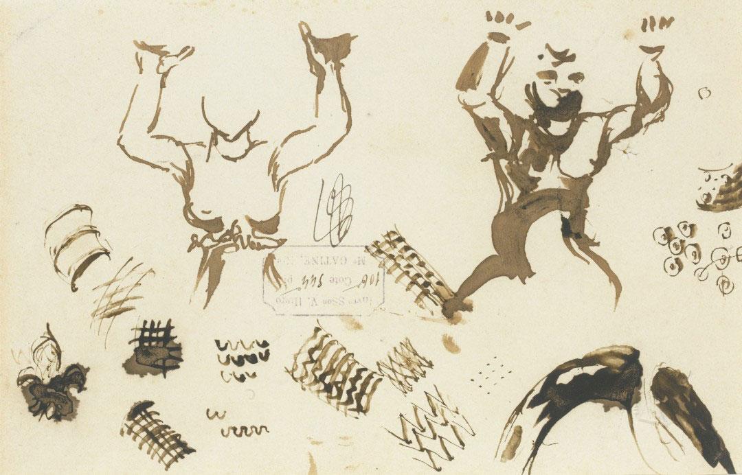 16-Виктор Гюго не только знаменитый писатель, но и талантливый художник