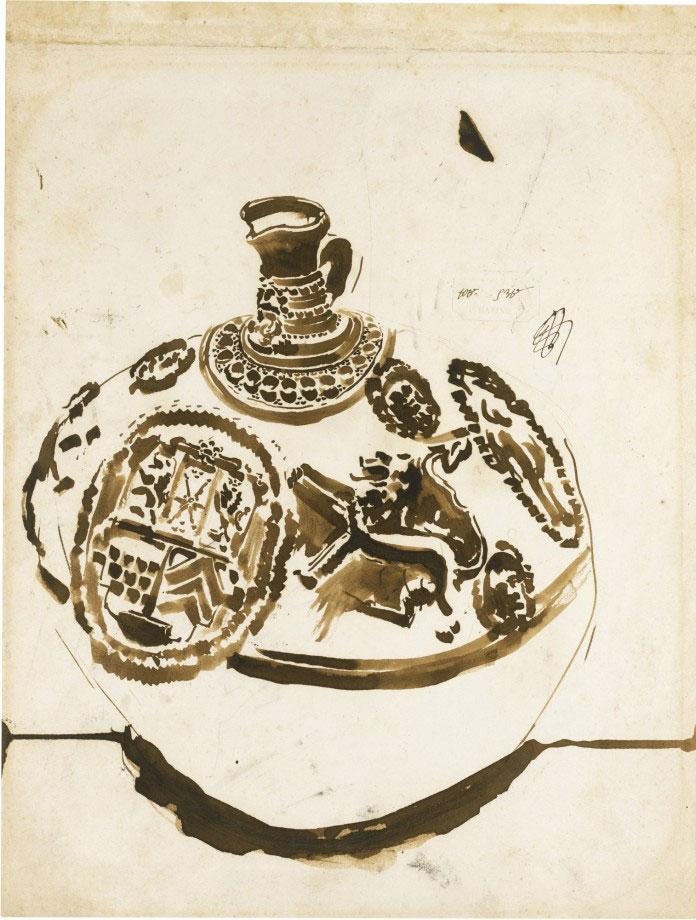 19-Виктор Гюго не только знаменитый писатель, но и талантливый художник