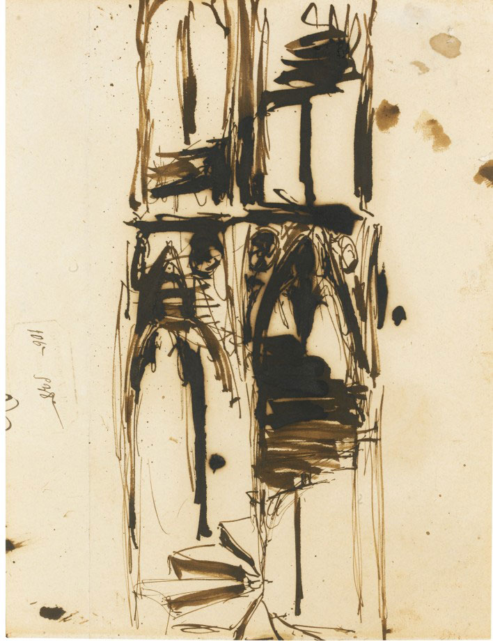 17-Виктор Гюго не только знаменитый писатель, но и талантливый художник