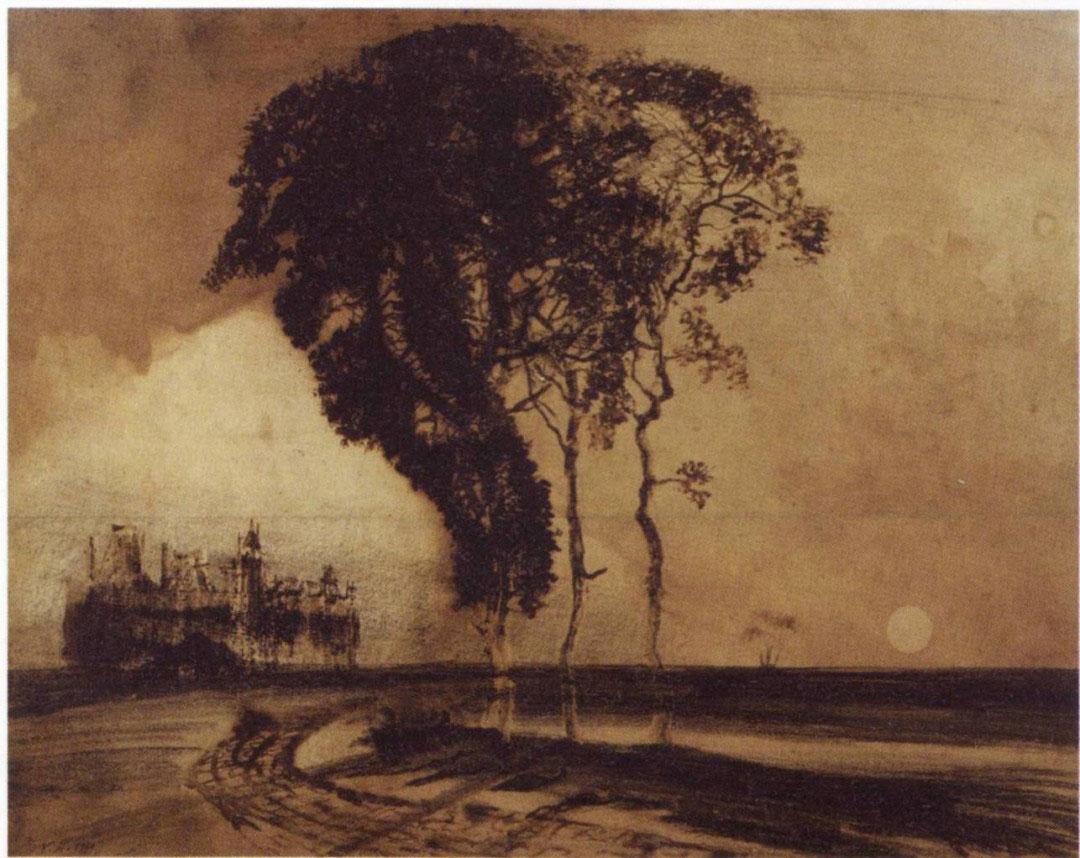 7-Виктор Гюго не только знаменитый писатель, но и талантливый художник