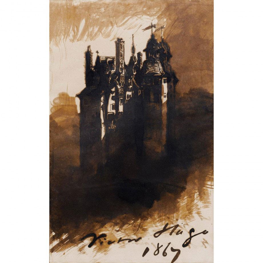 8-Виктор Гюго не только знаменитый писатель, но и талантливый художник