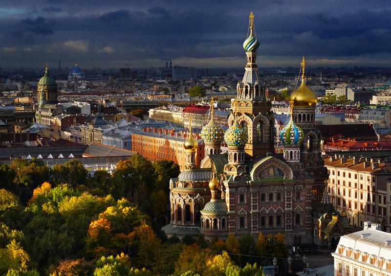 Собор Воскресения Христова на Крови (Храм Спаса на Крови) в Санкт-Петербурге, Россия