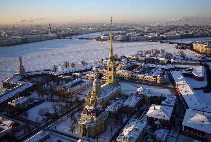 Петропавловская крепость в Санкт-Петербурге, историческое ядро города