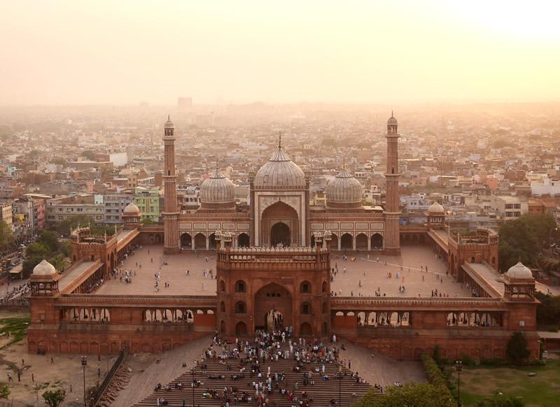 Мечеть Джама Масджид в Дели, Индия