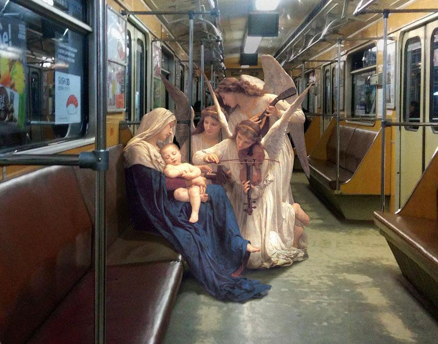 Боги постсовка: как выглядят персонажи эпохи Возрождения в современных декорациях