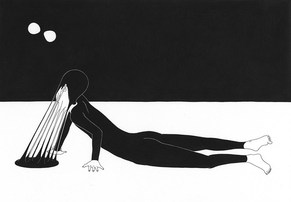 Сюрреалистические рисунки художника из Южной Кореи Дэ Хен Ким - 9