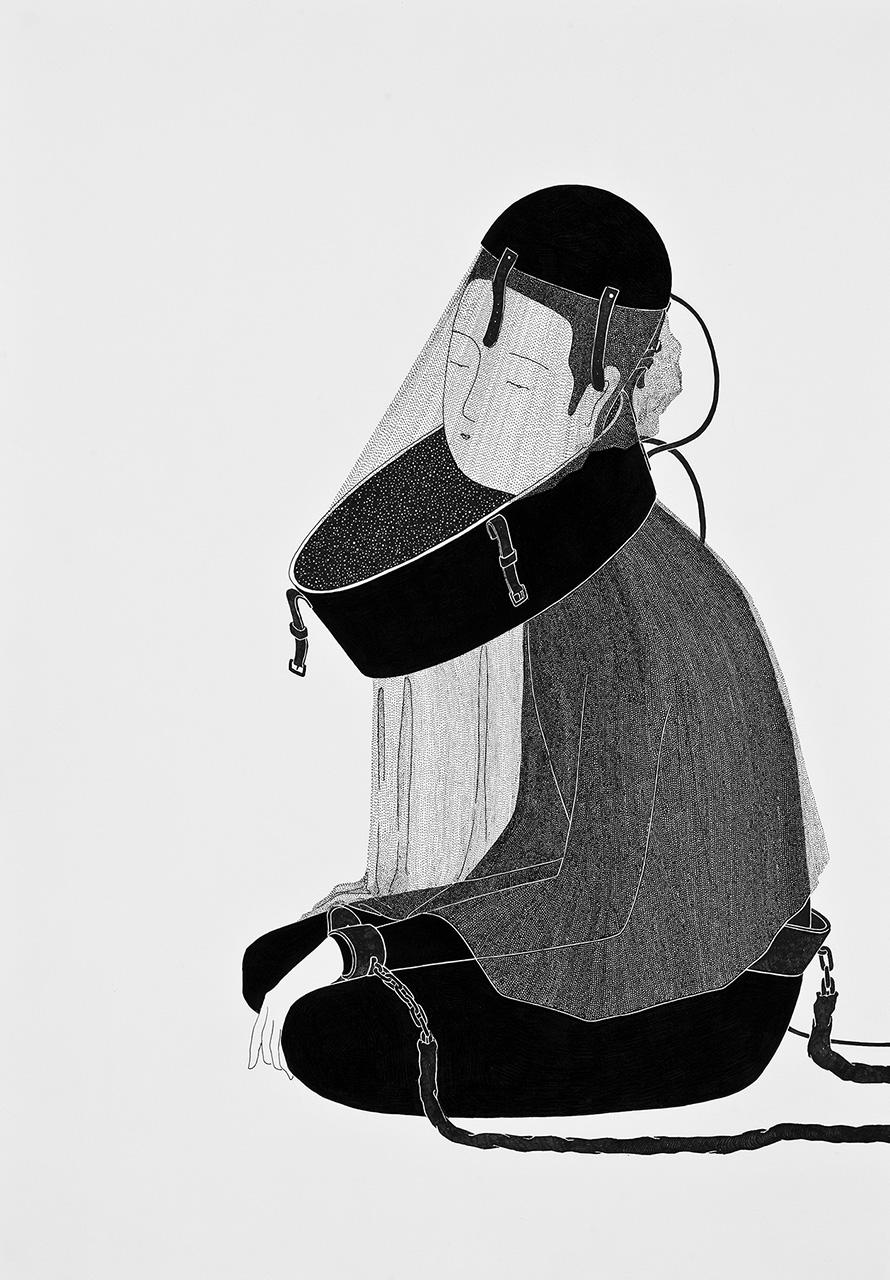 Сюрреалистические рисунки художника из Южной Кореи Дэ Хен Ким - 6
