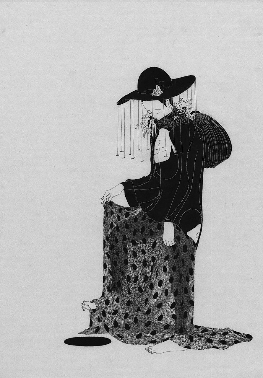 Сюрреалистические рисунки художника из Южной Кореи Дэ Хен Ким - 14