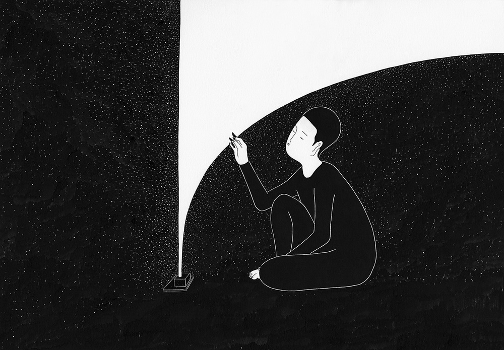 Сюрреалистические рисунки художника из Южной Кореи Дэ Хен Ким - 5