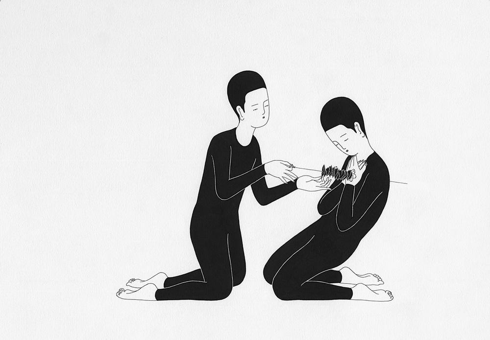 Сюрреалистические рисунки художника из Южной Кореи Дэ Хен Ким - 7