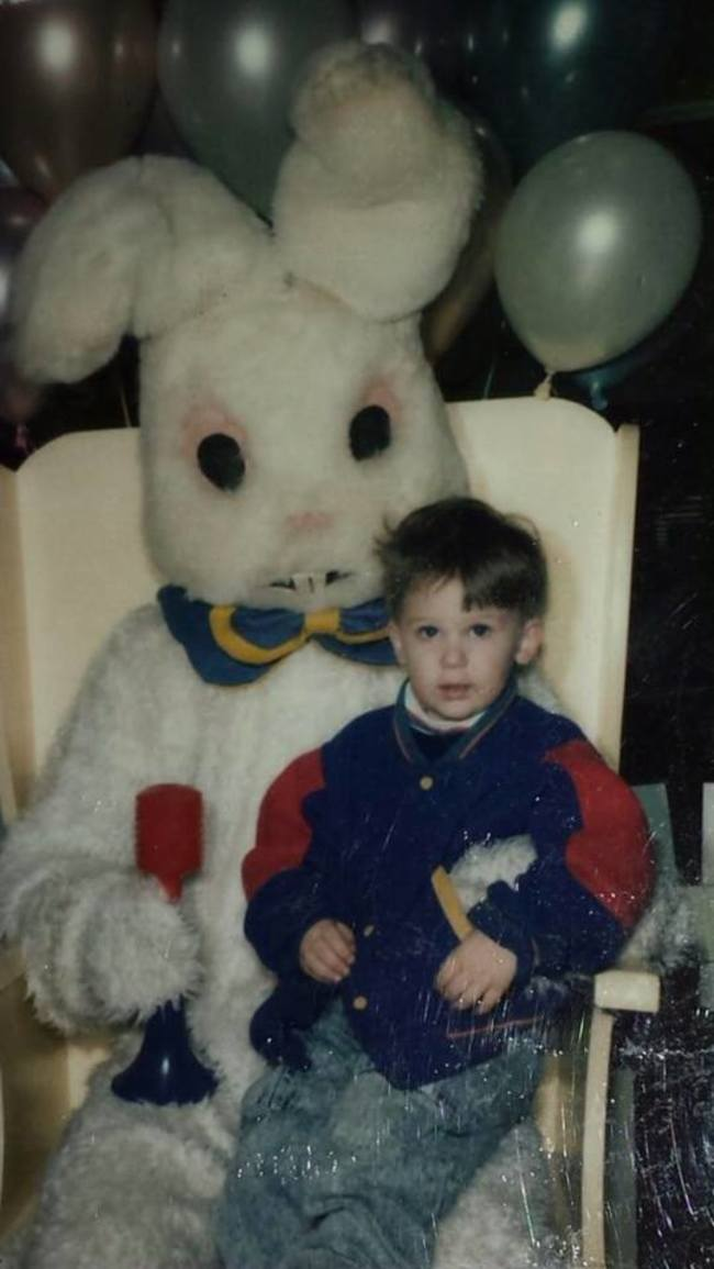 Жуткие пасхальные кролики - 29 праздничных фотографий - 10