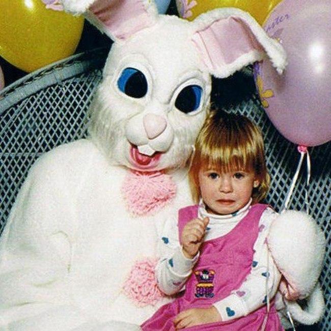 Жуткие пасхальные кролики - 29 праздничных фотографий - 12