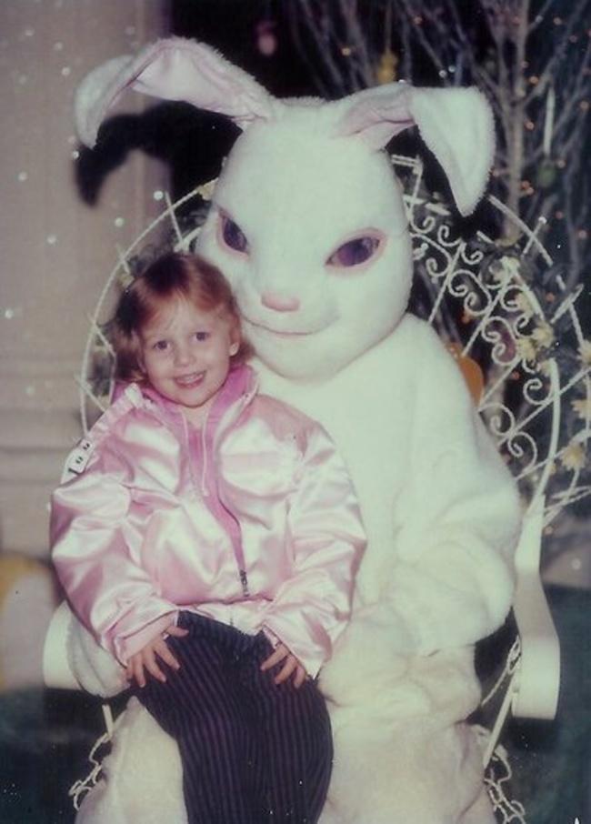 Жуткие пасхальные кролики - 29 праздничных фотографий - 13