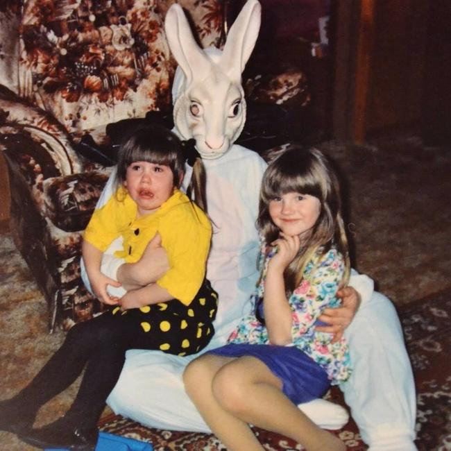 Жуткие пасхальные кролики - 29 праздничных фотографий - 14