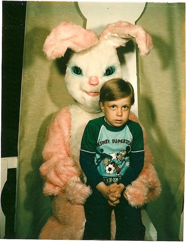 Жуткие пасхальные кролики - 29 праздничных фотографий - 16