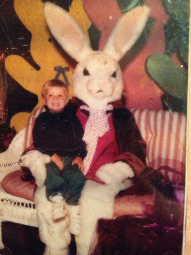 Жуткие пасхальные кролики - 29 праздничных фотографий - 5
