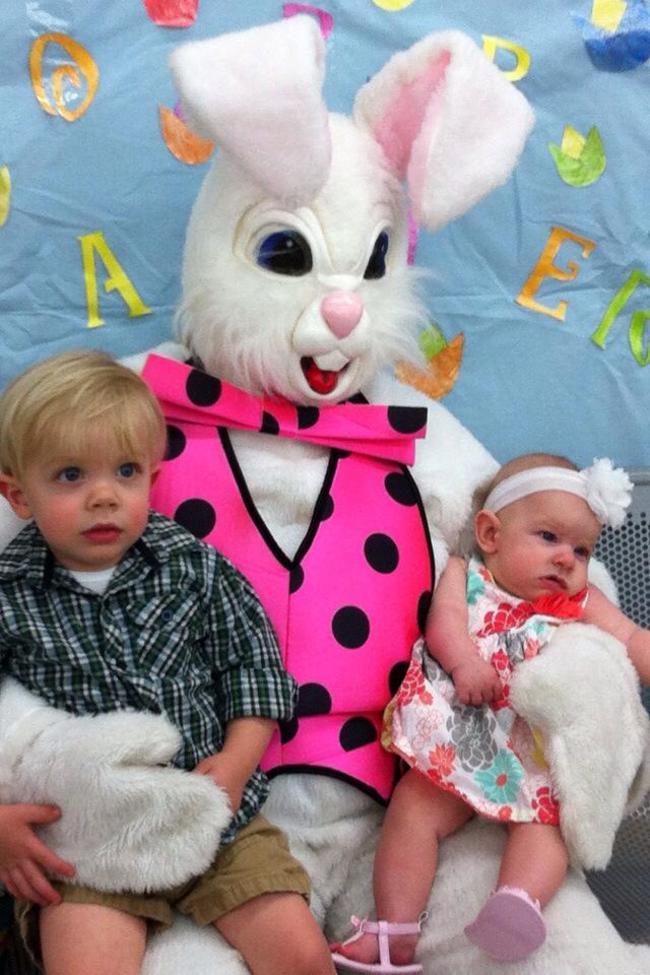Жуткие пасхальные кролики - 29 праздничных фотографий - 7
