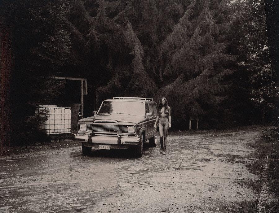 Роскошные чёрно-белые фотографии Марка Лагранжа - 5