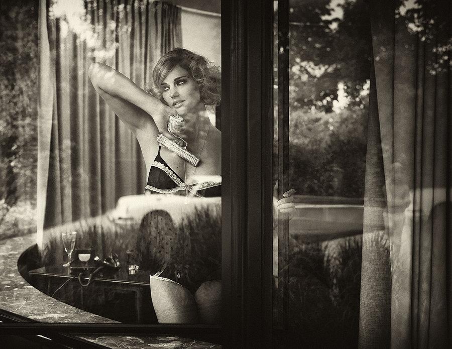 Роскошные чёрно-белые фотографии Марка Лагранжа - 7