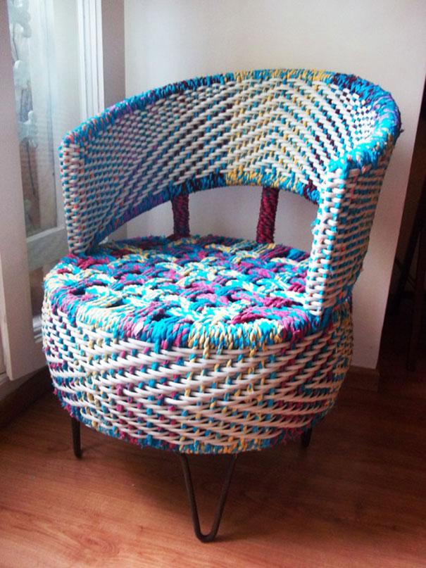 Из чего можно сделать кресло своими руками