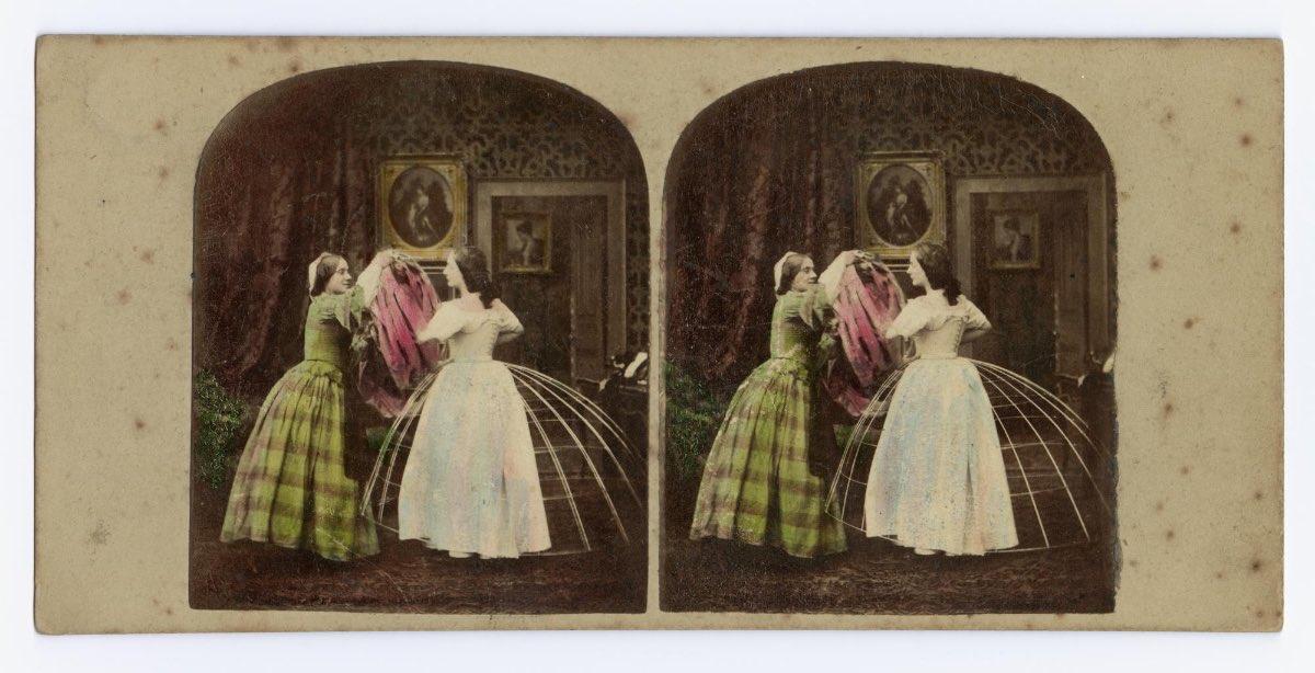 moda na krinolin retro foto 8