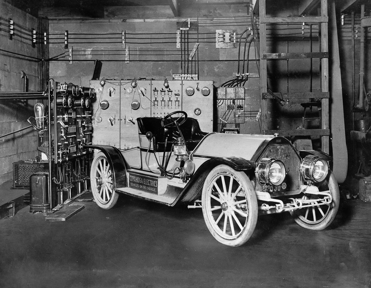 Pervye elektromobili retro foto 11