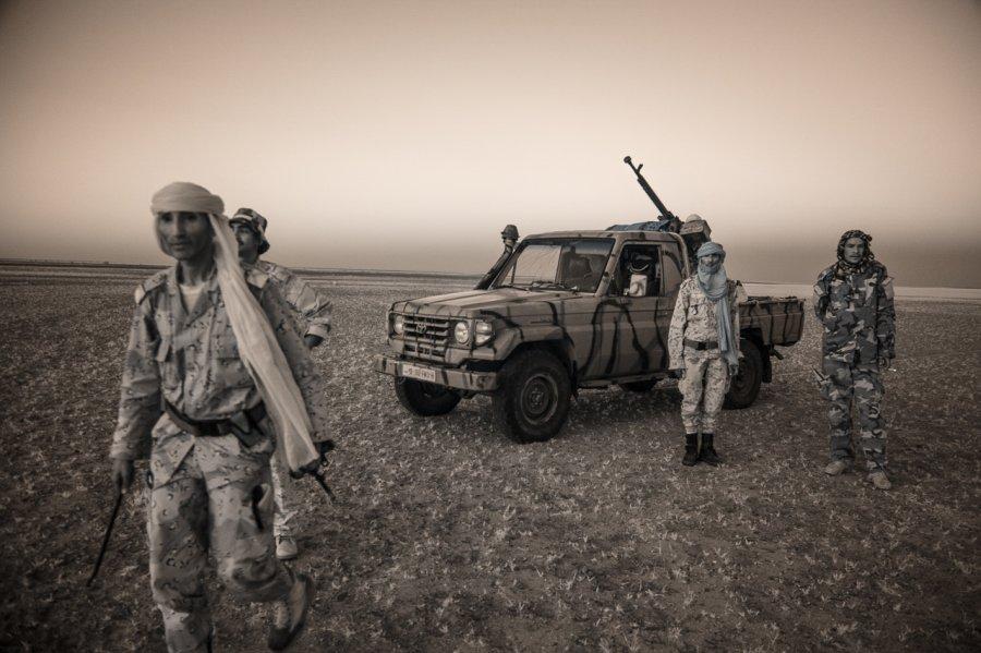 Кочевые племена Нигера в инфракрасных фотографиях Терри Голд-11