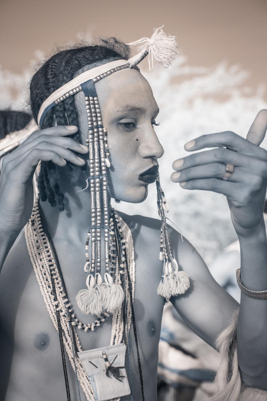 Кочевые племена Нигера в инфракрасных фотографиях Терри Голд-15