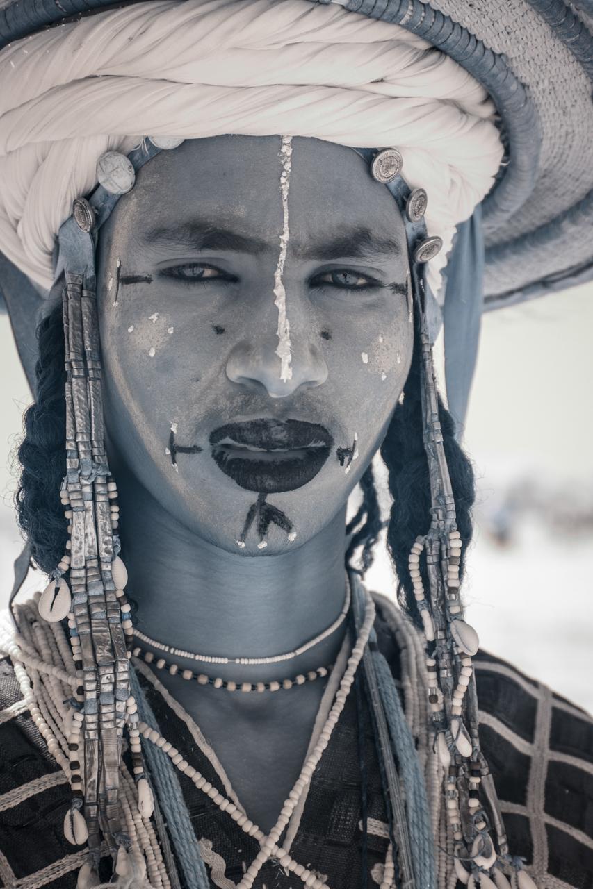 Кочевые племена Нигера в инфракрасных фотографиях Терри Голд-16