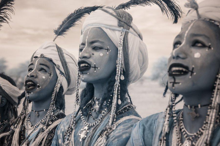 Кочевые племена Нигера в инфракрасных фотографиях Терри Голд-18