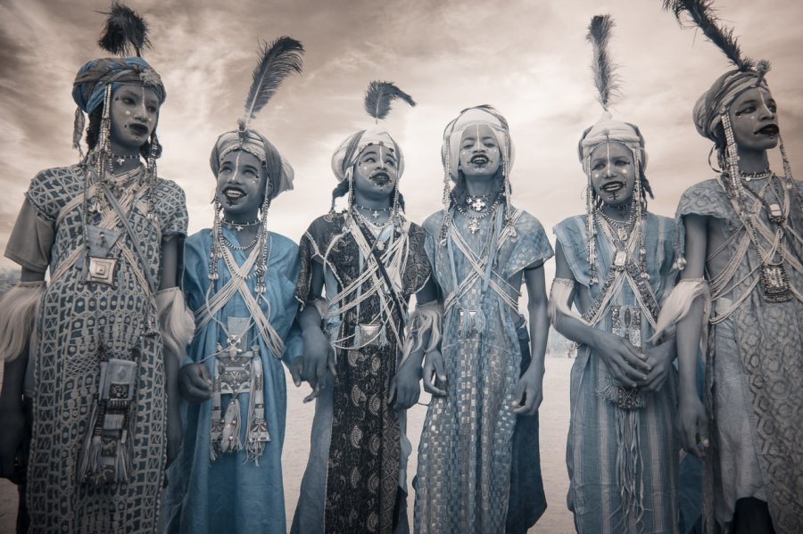 Кочевые племена Нигера в инфракрасных фотографиях Терри Голд-19