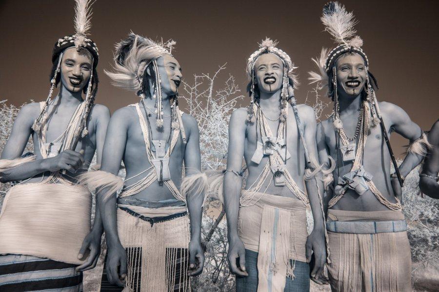 Кочевые племена Нигера в инфракрасных фотографиях Терри Голд-2