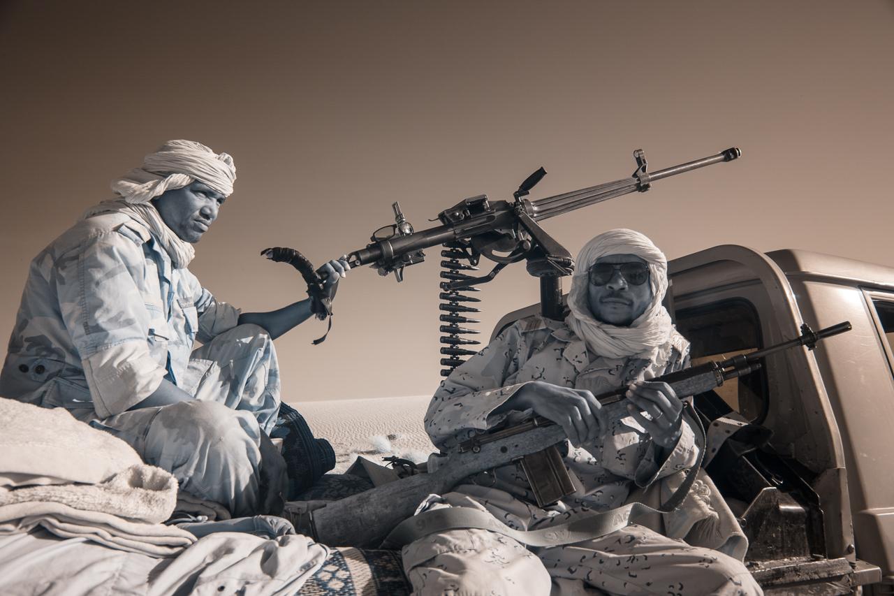 Кочевые племена Нигера в инфракрасных фотографиях Терри Голд-20