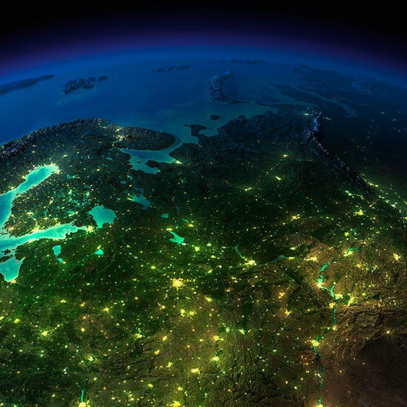 Zemlya nochyu foto iz kosmosa 11