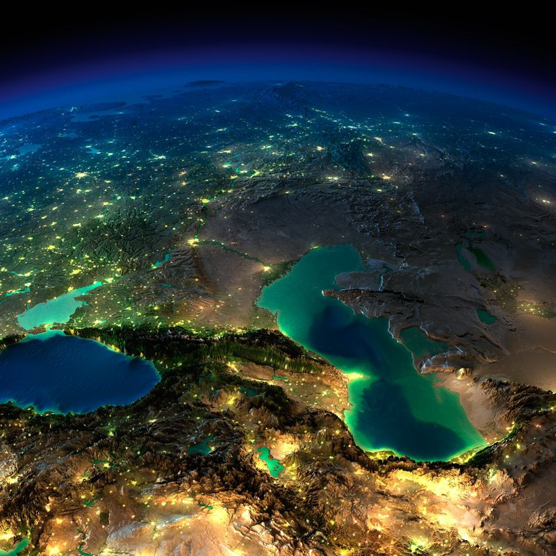 Zemlya nochyu foto iz kosmosa 12