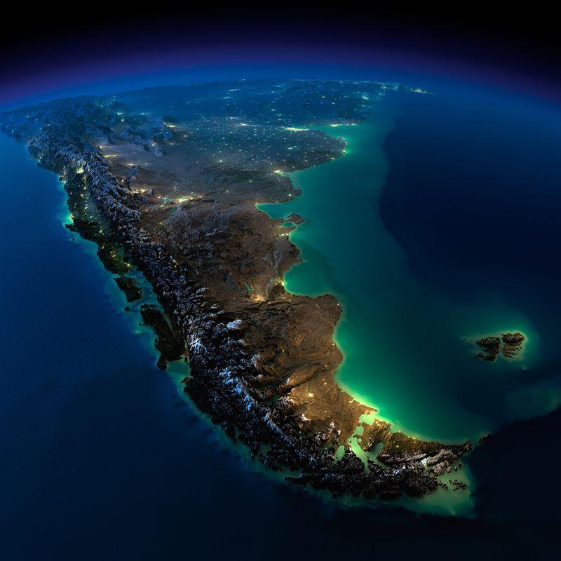 Zemlya nochyu foto iz kosmosa 13