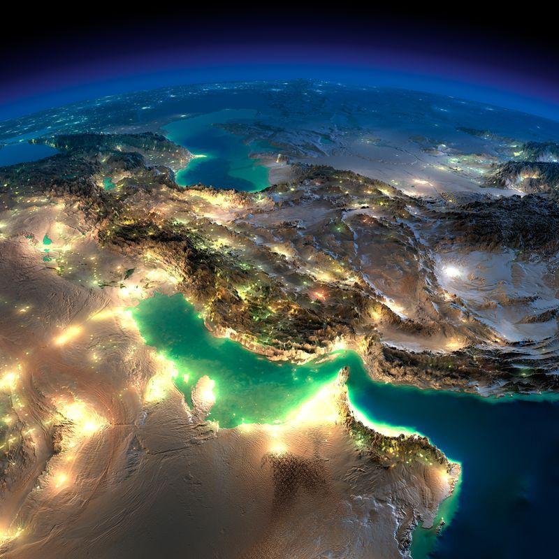 Zemlya nochyu foto iz kosmosa 14
