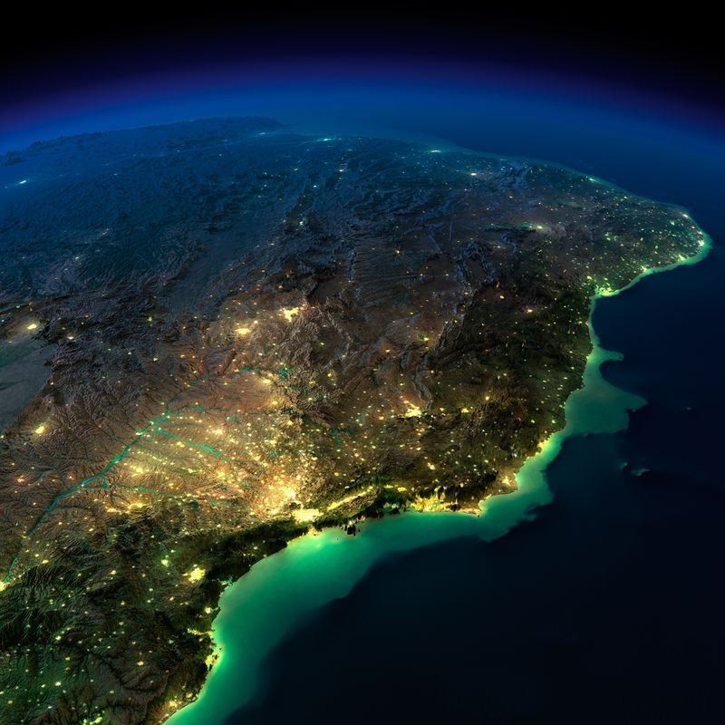 Zemlya nochyu foto iz kosmosa 15