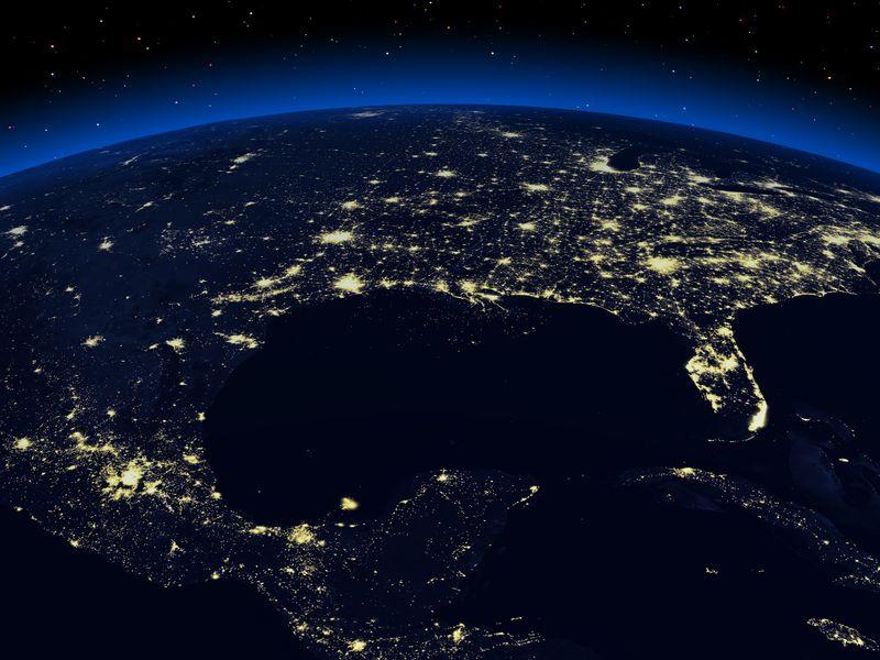 Zemlya nochyu foto iz kosmosa 19