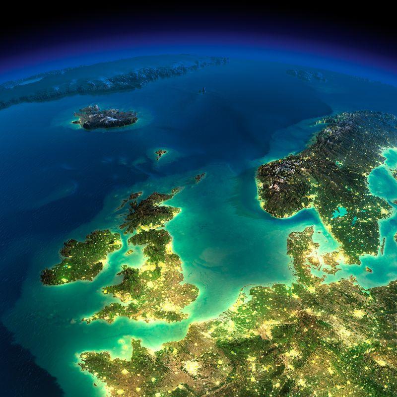 Zemlya nochyu foto iz kosmosa 23