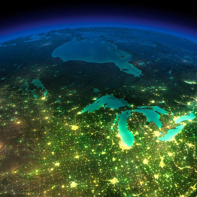 Zemlya nochyu foto iz kosmosa 25
