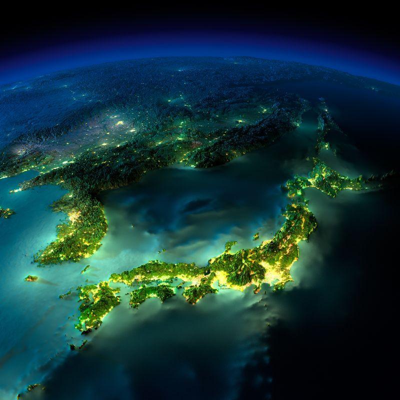 Zemlya nochyu foto iz kosmosa 4