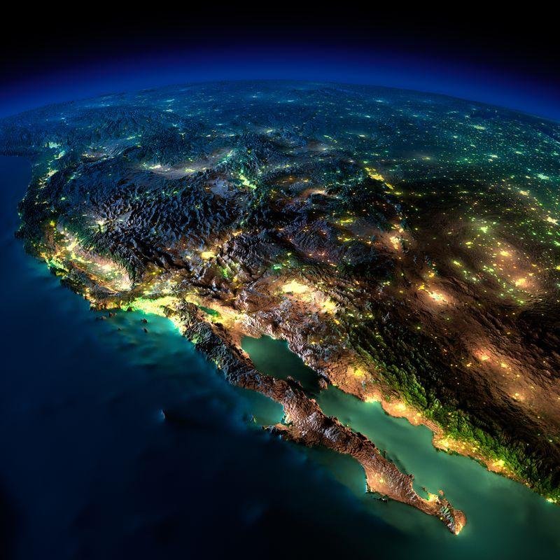 Zemlya nochyu foto iz kosmosa 6