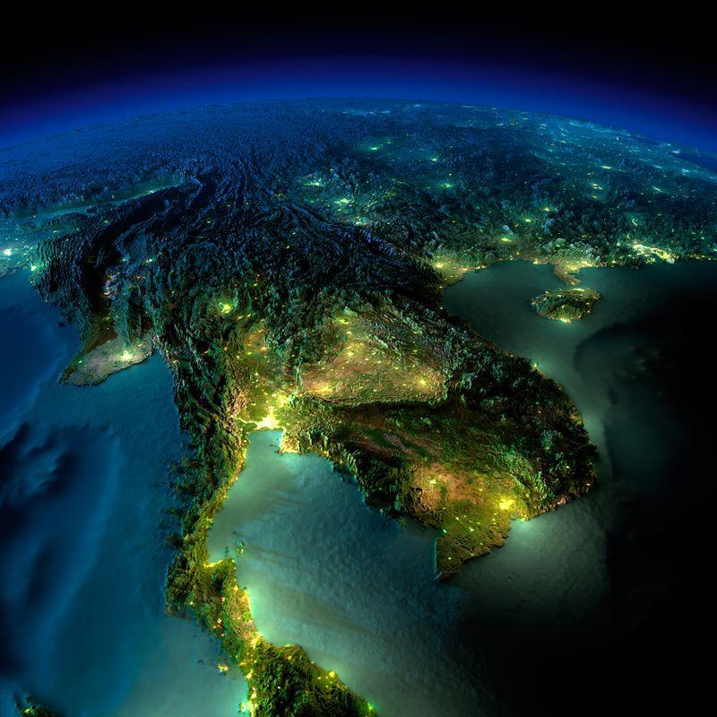 Zemlya nochyu foto iz kosmosa 7