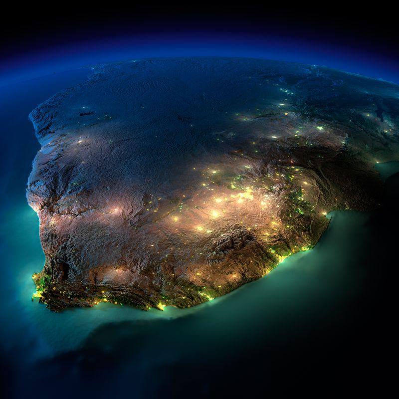 Zemlya nochyu foto iz kosmosa 9