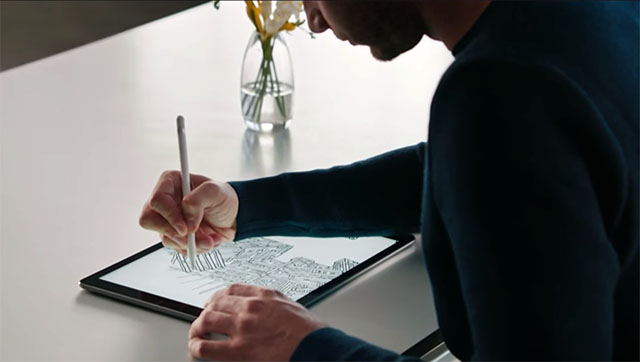planshet Apple iPad Pro i stilus Apple Pencil 9