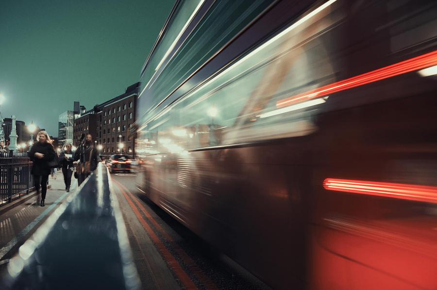 время отбытия автобусов: