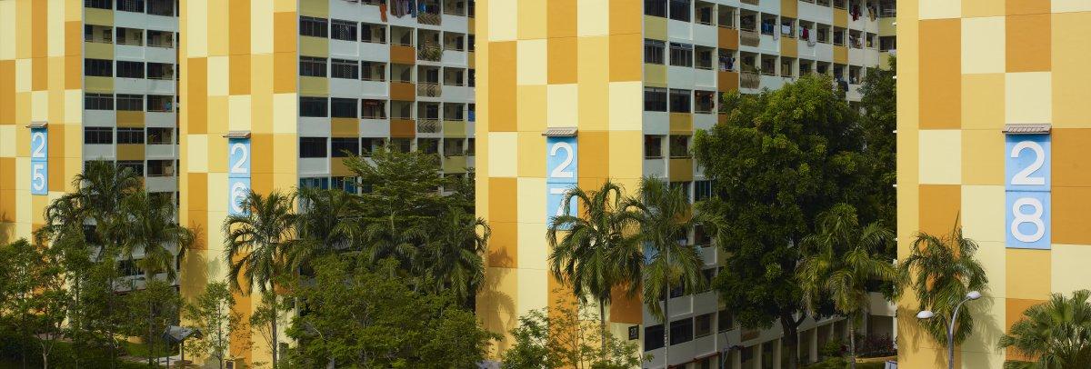 zhilye doma Singapura foto 17