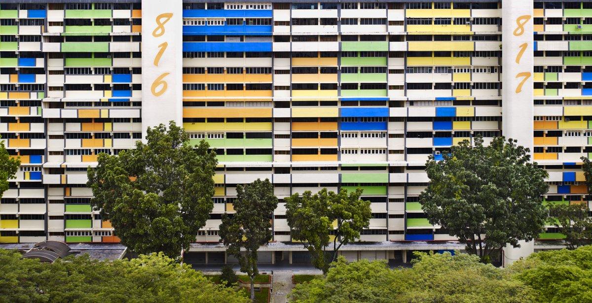 zhilye doma Singapura foto 4