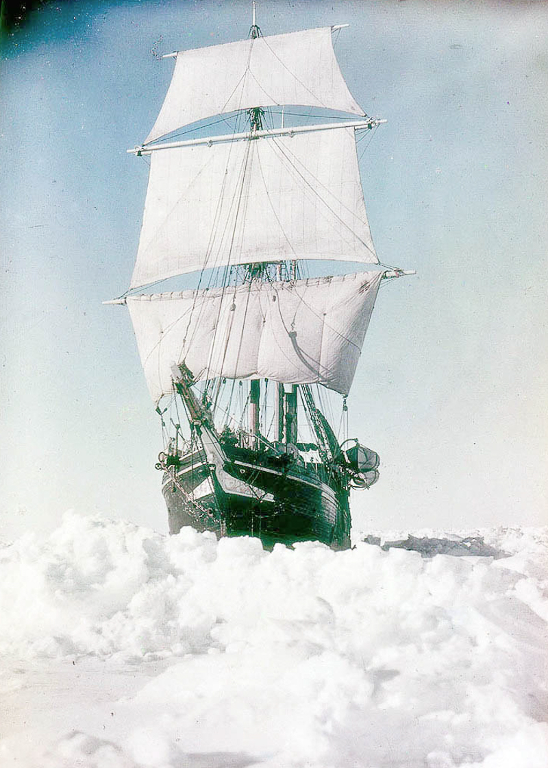 Fotografii Imperskoy transantarkticheskoy ekspeditsiey 11